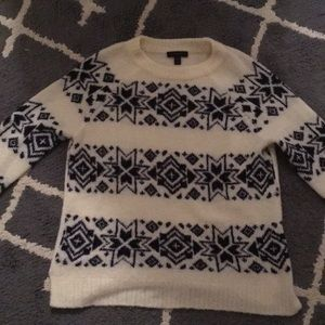 The softest snowflake sweater